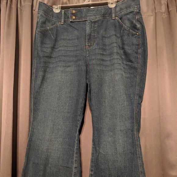 bf8c236f985 Lane Bryant Denim - Lane Bryant T3 Flare Jeans 18 Petite